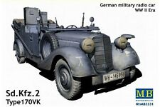 MasterBox MB3531 1/35 German military radio car WWII era Sd.Kfz. 2 Type 170VK