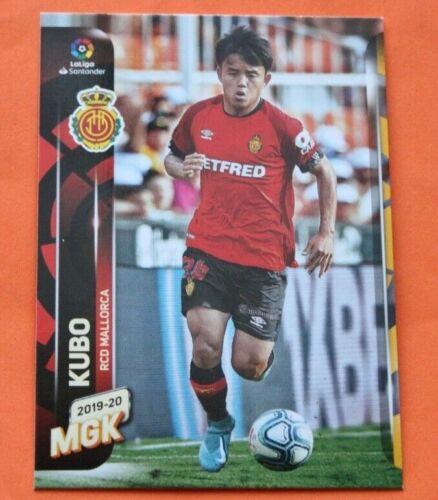 CARD PANINI MEGACRACKS MGK LIGA 2019 20 N.482 TAKEFUSA KUBO MALLORCA ROOKIE