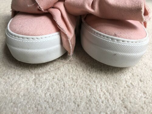 38 Sanders Trainers Sneakers White Used Pink Shoes Bow Joshua zfOx7ZBww