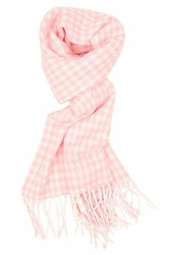 Best Cashmere Feel Winter Light Pink Plaid Scarf For Womens Scarfs For Men Scarf