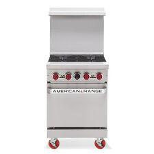 American Range Ar 4 24 Gas Restaurant Range