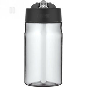 Details about Thermos Hydration Water Bottle with Straw, Clear, 355 ml