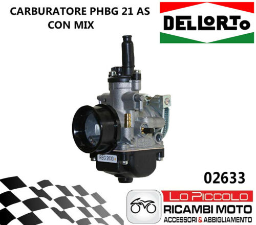MINARELLI AM6 FANTIC MOTO CABALLERO 50-02633 CARBURATORE DELLORTO PHBG 21 CS