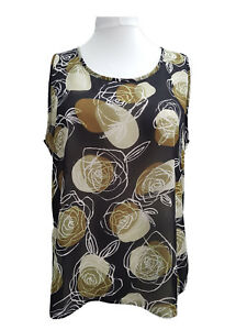 Ladies-Plus-size-Crepe-Floral-Summer-Starter-Tunic-Top-Sizes-18-20-to-34-36-NEW