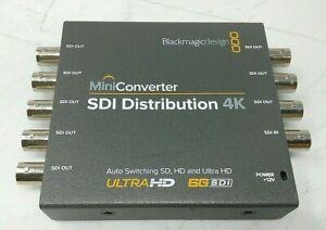 Blackmagic Design Mini Converter Sdi Distribution 4k 9338716002621 Ebay