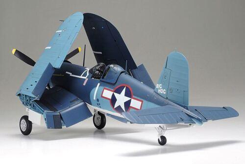 Tamiya 60325 1//32 U.S Aircraft Model Kit Vought F4U-1A Corsair Mk II w//PE Parts