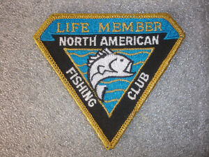 Collectible life member north american fishing club fish for North american fishing club