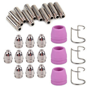 AG60 SG55 Plasma Cutter Cutting Torch Consumables 18pcs Fit WSD60P