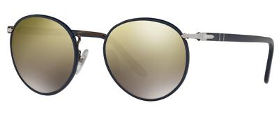 Persol Damen Herren Sonnenbrille 2422-s-j 1062/o3 Verspiegelt Rund H Gute WäRmeerhaltung