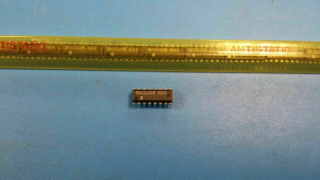 (1 PC) N82S129N SIGNETICS 256X4 OTPROM, 50ns, PDIP16