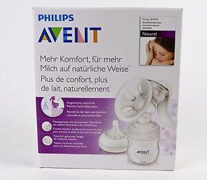Philips-Avent-SCF330-20-Milchpumpe-Komfort-mit-Naturnah-Flasche-125ml-weiss