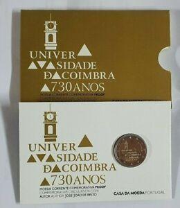 Coincard-Portugal-2020-mit-2-Euro-Gedenkmuenze-034-Coimbra-034-PP-Polierte-Platte