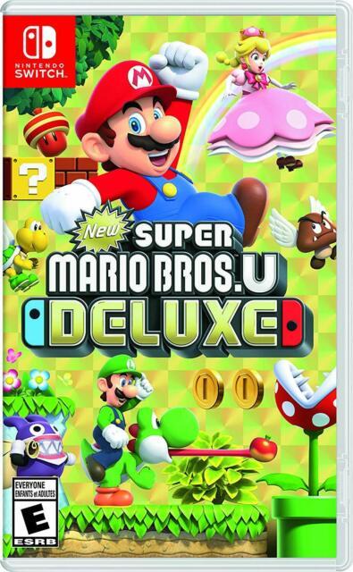 New Super Mario Bros. U Deluxe  Nintendo Switch New Factory Sealed