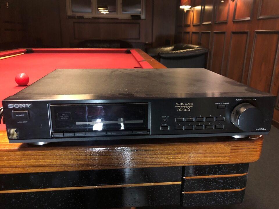 AM/FM radio, Sony, 550es