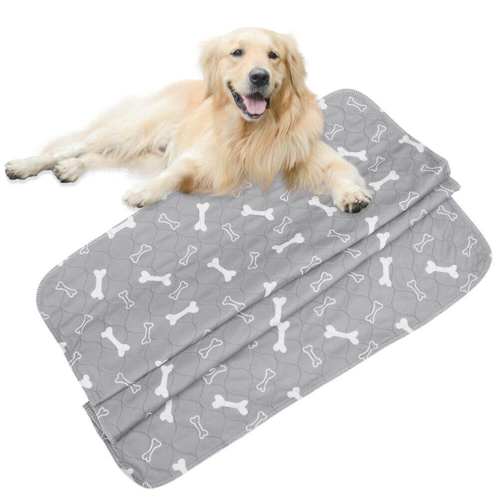 1 stück Hund Pet Pee Pads Wiederverwendbare Waschbar Wasserdicht Schnell Saugend