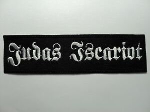 JUDAS-ISCARIOT-EMBROIDERED-PATCH