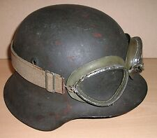 Original WW-2 era German Motorcycle Dispatch Rider's Goggles - Dated 1940...