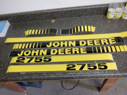 HOOD /& NUMBERS ONLY JOHN DEERE 2755 TRACTOR DECALS SEE DETAILS /& PICTURES