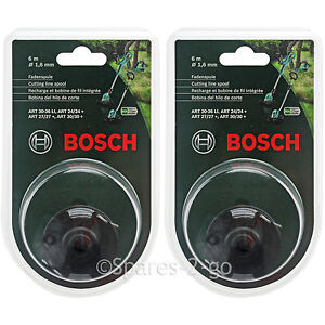 100% Vrai Bosch Art 24 27 30 30-36 Li Rotofil Tondeuse Ligne De Coupe Bobine De Fil 12 M 1.6 Mm-afficher Le Titre D'origine