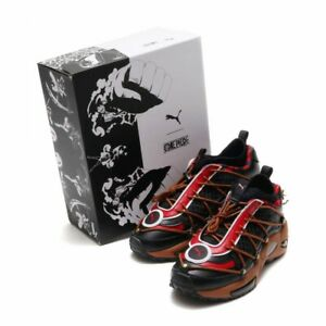 Details about PUMA x ONE PIECE CELL ENDURA Sneakers shoes BLACK MOCHA MOUSSE CHILI PEPPER