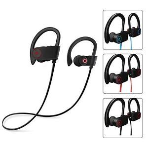 Casque Ecouteur Bluetooth Sans fil 4.2 Sport Stéréo Intra-auriculaire anti sueur