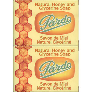 2-Pack-Pardo-Natural-Honey-Glycerine-Soap-Skin-Moisturizer-Jabon-Glicerina-Miel