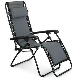 VonHaus-Padded-Zero-Gravity-Chair-Outdoor-Garden-Patio-Sun-Lounger-Recliner