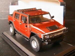 HUMMER-H2-SUT-2005-PICK-UP-OLIEX-1-43-BRONZE-CARARAMA-4X4-LHD-LEFT-HAND-DRIVE