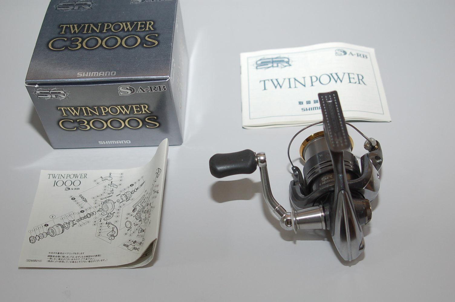 2008 Shimano TwinPower C3000 En Caja