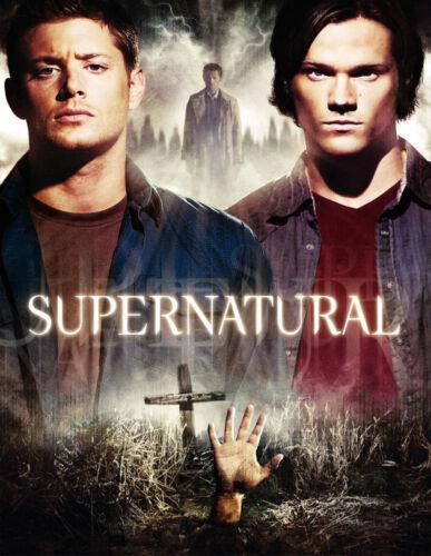 TV Show Art Deco Poster Wall Fabric Canvas 3113 Supernatural