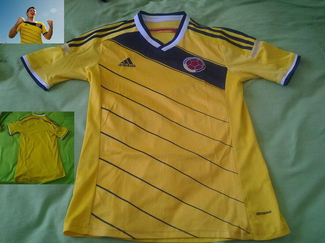 Shirt COLOMBIA World Cup 2014 trikot jersey maglia Cuadrado James maillot Italia