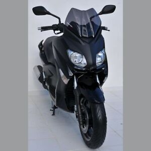 pare brise bulle ermax sport yamaha xmax x max 125 250 2010 2013 coul clair ebay. Black Bedroom Furniture Sets. Home Design Ideas