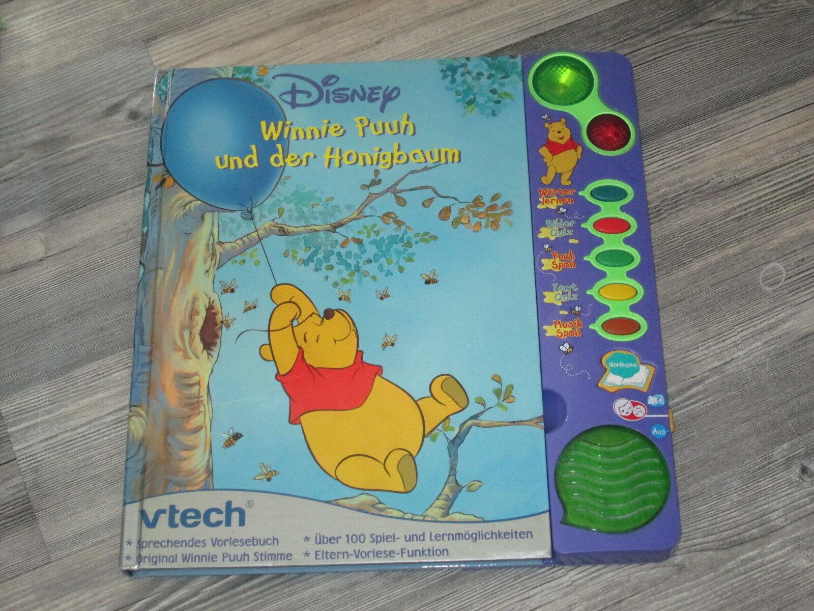 VTech V-Tech Winnie Puuh und der Honigbaum Pooh Hörbuch Lernbuch Lern und Hörbuch Pooh Lesen d8ac1b