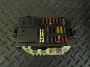 Details about 2002 DAIHATSU SIRION 1.3 F-SD 5DR AUTO FUSE BOX on