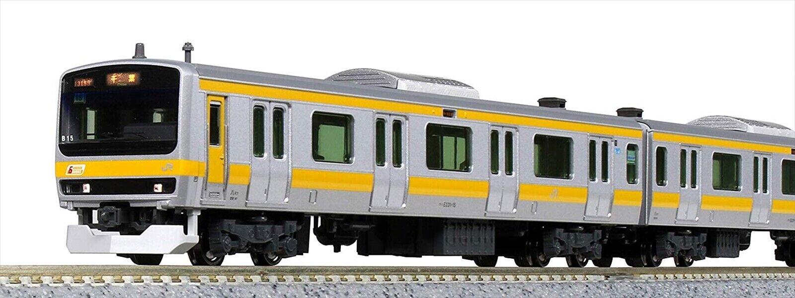 Kato N Scala E231 SERIE 0 SERIE CENTRALE sōbu delicata linea 6 Set di base 101520