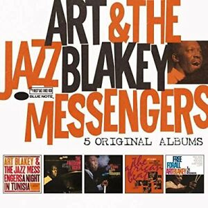 Art-Blakey-and-The-Jazz-Messengers-5-Original-Albums-CD