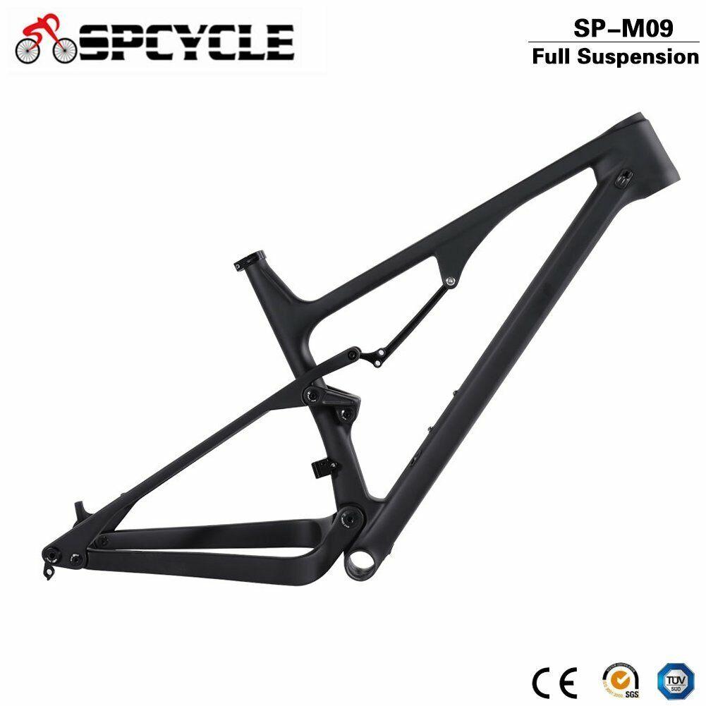 29er 27.5er autobon Full Suspension Frame 14812mm Boost MTB Mountain Bike Frames