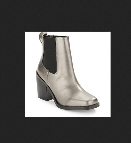 DESIGN DESIGN DESIGN LAB KOALLAN LORD AND LAYLOR metallic silver gray glam abkle Stiefel 6 M c746e9