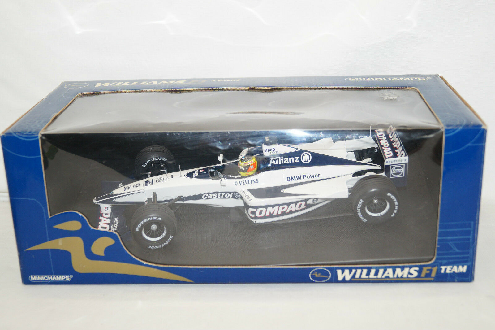 Minichamps Williams  9 BMW FW 22 R. schumcher 2000 1 18