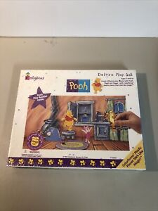 Vintage 1998 Colorforms Winnie the POOH Disney DELUXE PLAYSET toy set 2408 New
