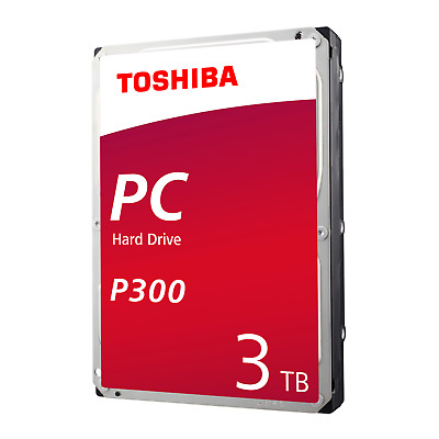 Toshiba P300 HDWD130UZSVA 3TB 64MB 7.200rpm 3.5zoll SATA600 Bulk