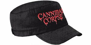 Image is loading Cannibal-Corpse-039-Logo-039-Army-Hat-NEW 9a9692d5a47