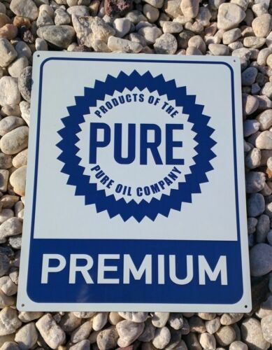 Products of the Pure Oil Company Advertising Premium Metal Sign 10x12 50154