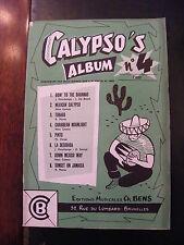 Partitura De Calypso Álbum N°4 Piano