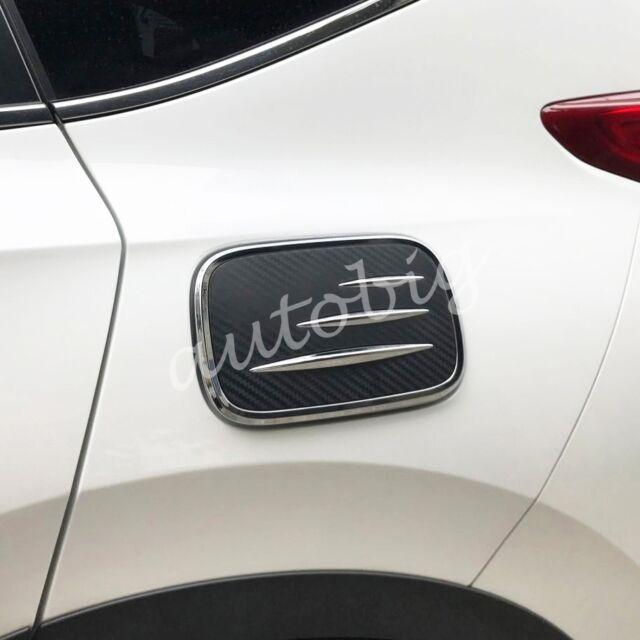 Car Fuel Tank Cap Lid for 2017 2018 5th Honda Cr-v Gas Oil Chrome Cover  Trims