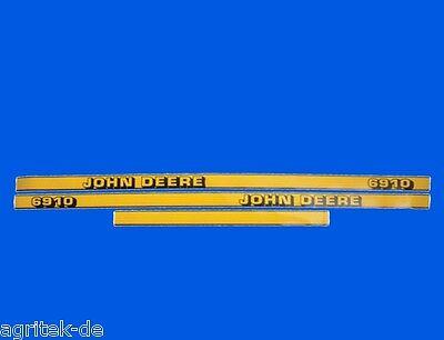 Haubenaufkleber für John Deere 6310 Aufkleber Set Motorhaube Typenaufkleber