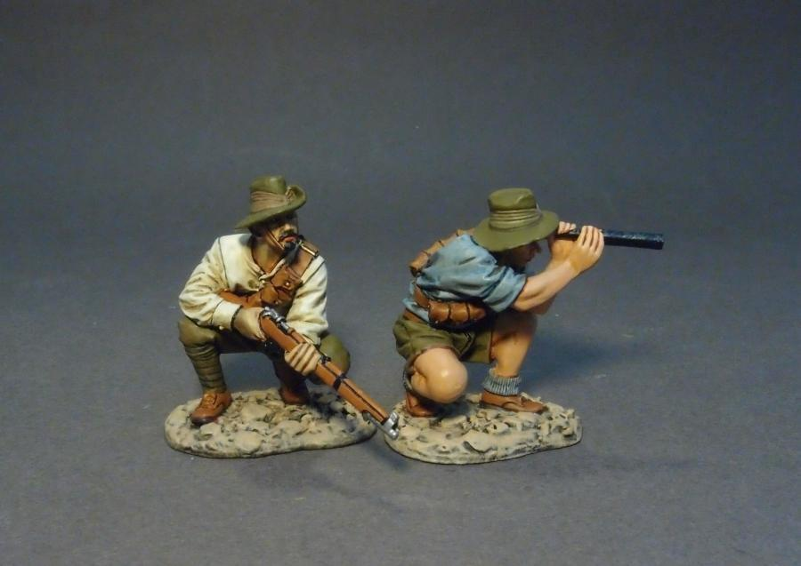 JOHN JENKINS WW1 GALLIPOLI CAMPAIGN 1915 GLA-12 ANZAC SNIPER & SPOTTER MIB