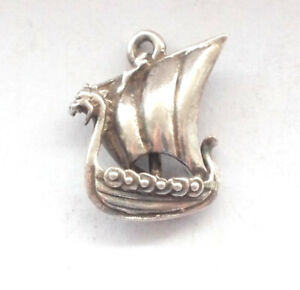 925 Sterling Silver Antiqued Anchor Shaped Pendant