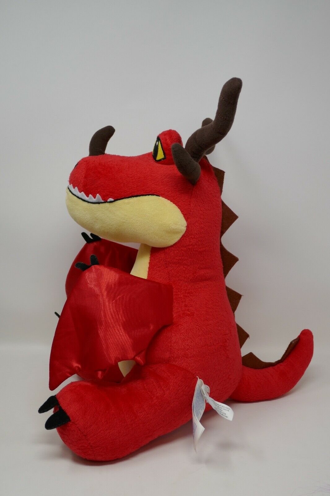 Build A Bear How to Train Your Dragon Dragon Dragon Hookfang Dragon 15  Plush Stuffed Animal fa2474