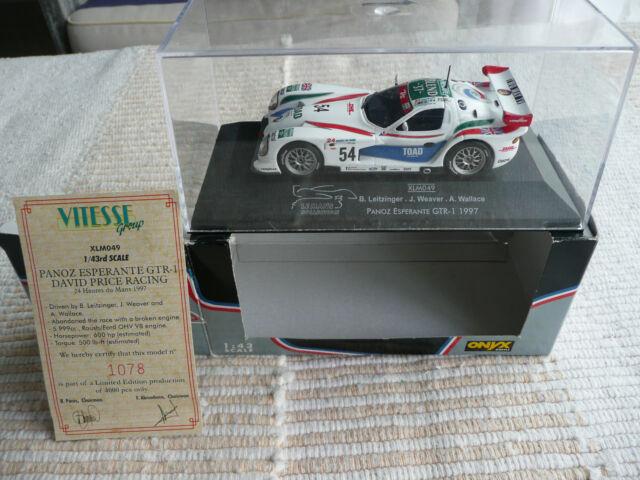 ONYX Le Mans Collection - PANOZ ESPERANTE GTR-1 #54 - Le Mans 1997 !! NEUVE !!
